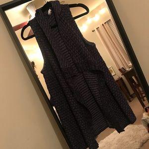 Stylish cardigan vest